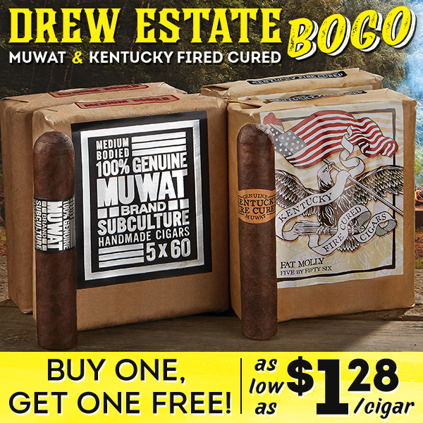 Buy one Get one Free Drew Estate