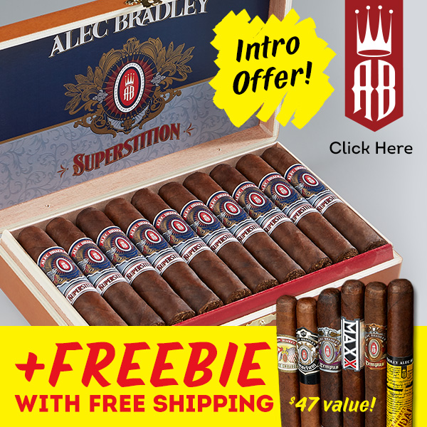 Try AB Superstition: Get 6 Cigars + Free Shipping!