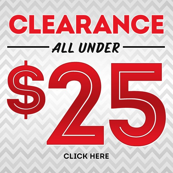 Clearance Under $25