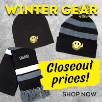 Closeout pricing & limited quantities on all of our cold weather gear!
