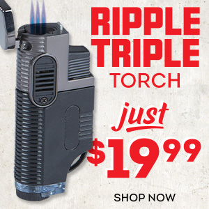 Reliable, durable, and just $19.99! Get yourself a Ripple Tripple Torch today!