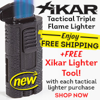 Brand New Xikar Lighter Ships FREE + FREEBIE!