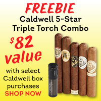 Caldwell 5-Star Sampler + Torch Lighter (worth $82) FREE with select box purchase!