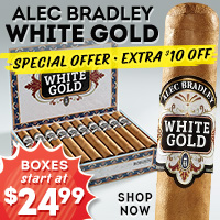 Alec Bradley White Gold Extra $10 Off