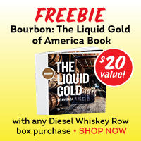 FREE Bourbon Book with Diesel Whiskey Row Purchase!