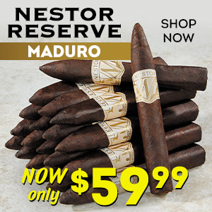 Nestor Reserve Maduro 20-pack now just $59.99!!