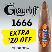 Save $20 on the new Graycliff 1666!