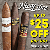 Up to $25 off Boxes of Nica Libre, plus free shipping on your entire order!