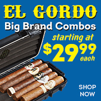 5 Cigar + Travel Humidor Combos starting at just $29.99!