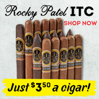 Great sticks by the illustrious Rocky Patel, for just $3.50 per cigar!?