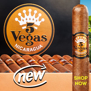 A new release from a cigar industry legend! Check out 5 Vegas Nicaragua!!