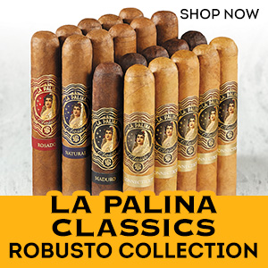 Quality that never goes out of style. Pick up your La Palina Robusto Collection Sampler for just $69.99 today!!