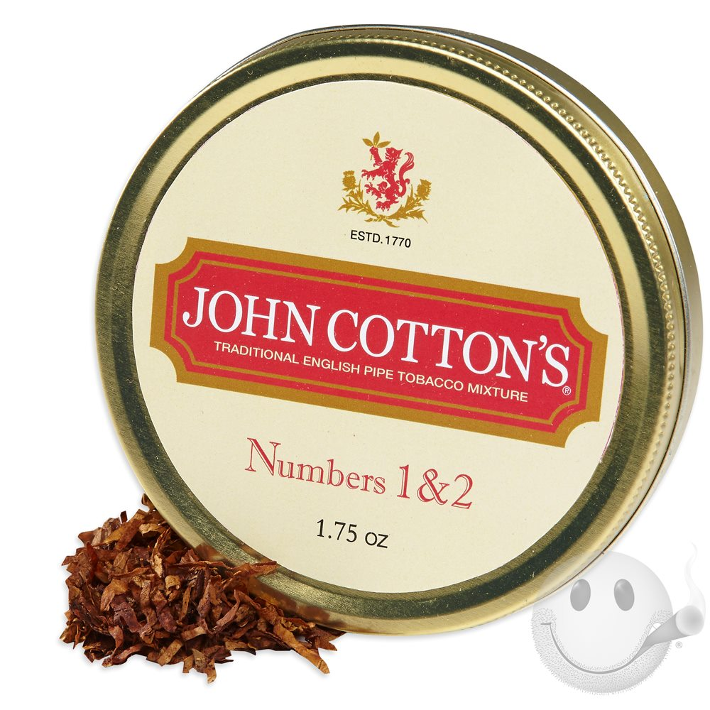 John Cotton's Numbers 1 & 2 Pipe Tobacco