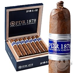 PDR 1878 Capa Sun Grown Reserva Dominican