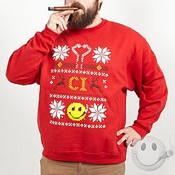 CI Ugly Christmas Sweatshirt