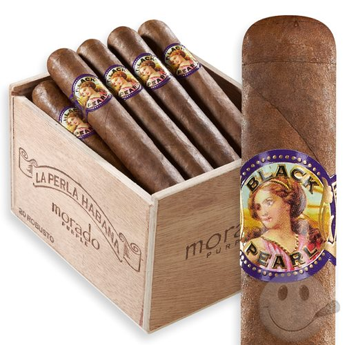 Shop La Perla Habana Black Pearl Morado at Cigars Intl ...