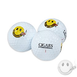 CI Smiley Golf Balls