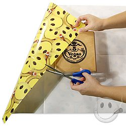 CI Smiley Gift Wrapping Paper