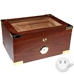 Milano Glass-Top Display Humidor