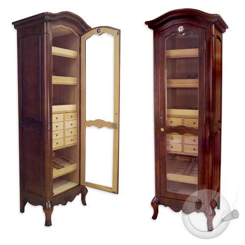 Lovely Chancellor Antique Tower Humidor