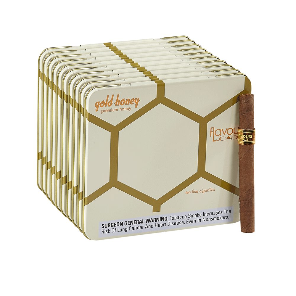CAO Flavours Gold Honey Cigars