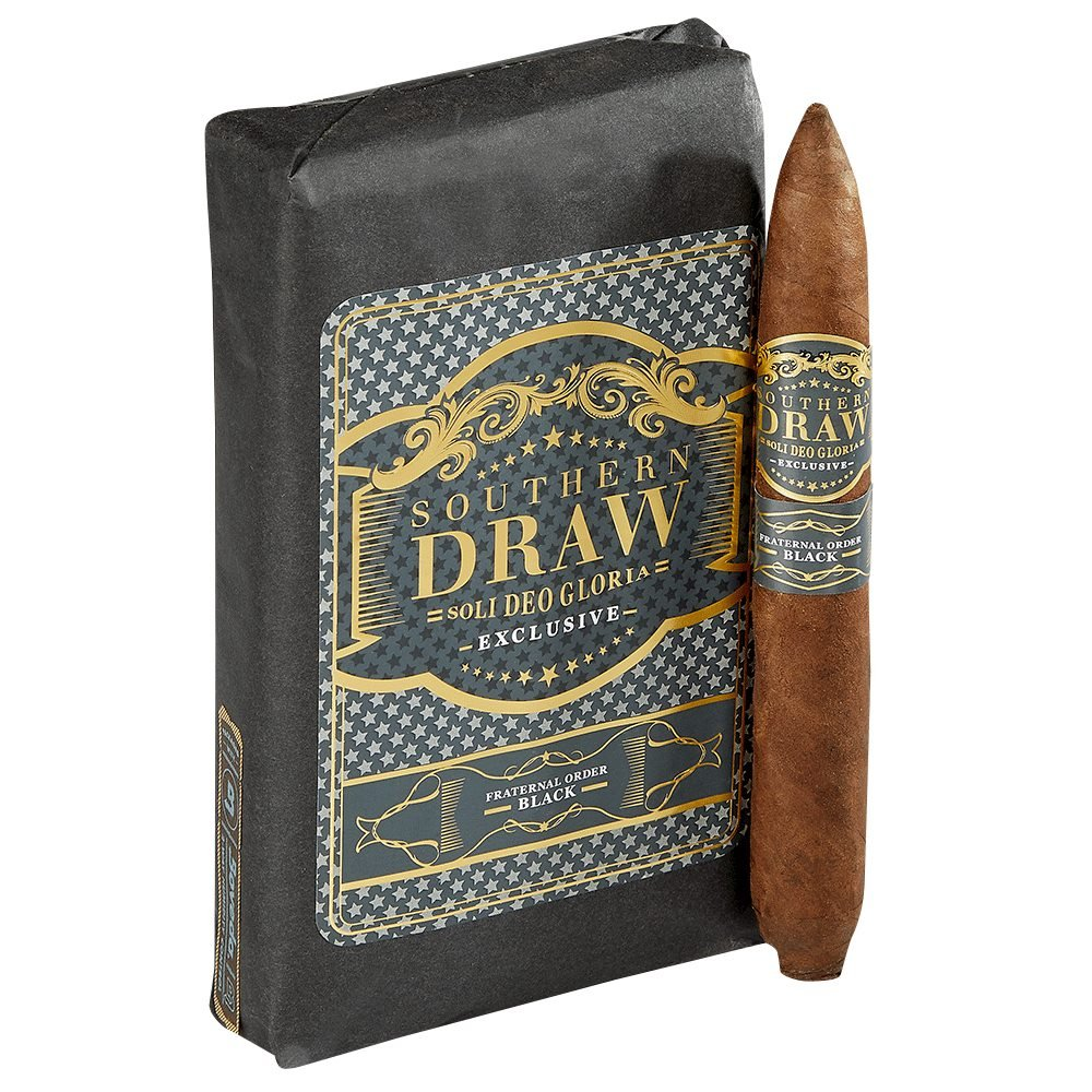 Southern Draw Fraternal Order Black Cigars