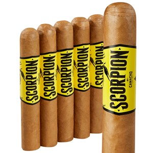 "Camacho Scorpion Connecticut Robusto (5.0""x50) Pack of 5"