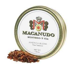 Macanudo Pipe Tobacco Packaged Pipe Tobacco