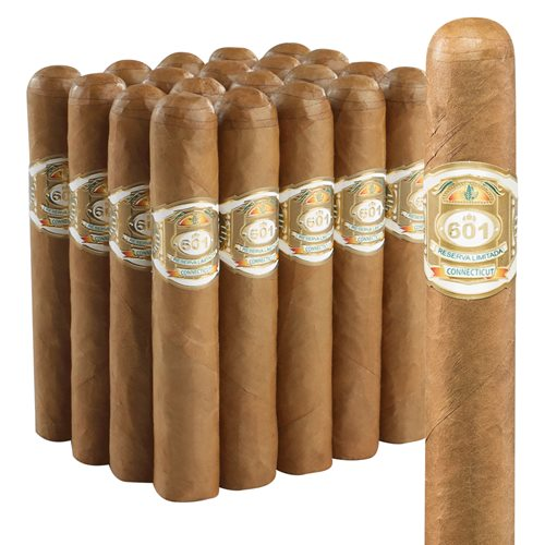 "601 White Robusto (5.0""x50) Pack of 20"