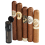 Caldwell 5-Star Sampler and Triple Torch Combo  5 Cigars